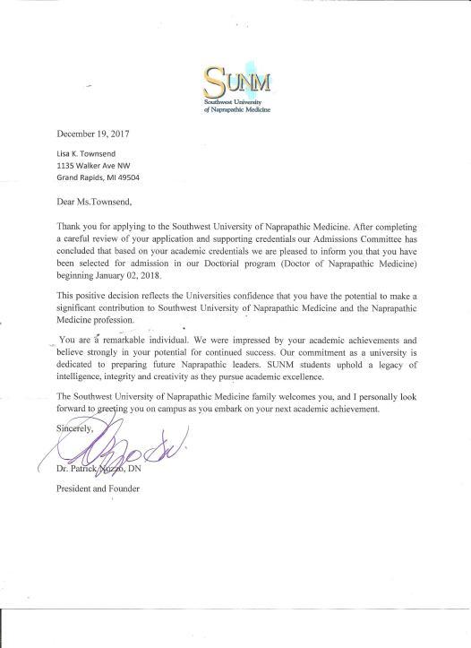 letter of intent for graduate school sample